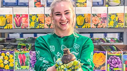 Фоторепортаж со склада Беккер: поступление луковичных цветов