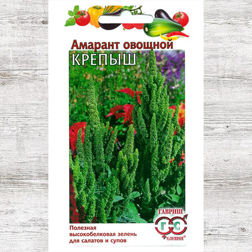 Амарант овощной Крепыш Гавриш изображение 1 артикул 65904