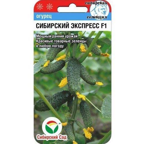 Огурец Сибирский экспресс F1 Сибирский сад изображение 1 артикул 65400