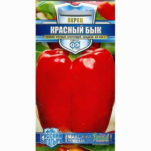 Перец сладкий Красный бык Гавриш изображение 1 артикул 65214