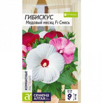 Гибискус Медовый месяц F1, смесь окрасок Семена Алтая изображение 4
