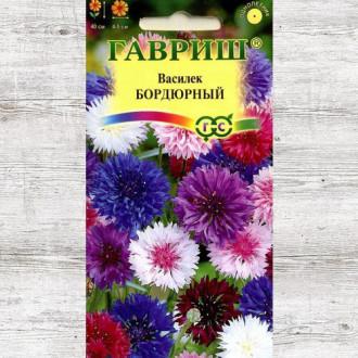Василек Бордюрный, смесь окрасок Гавриш изображение 1