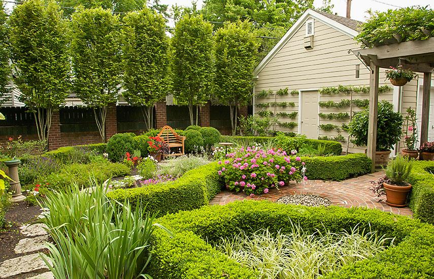 как составить план сада