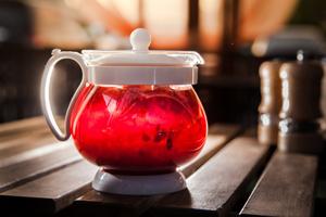 чай из цветов малины