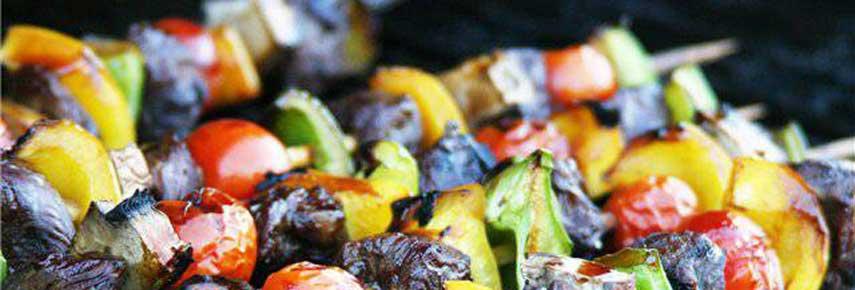 овощи – запеченные в мангале