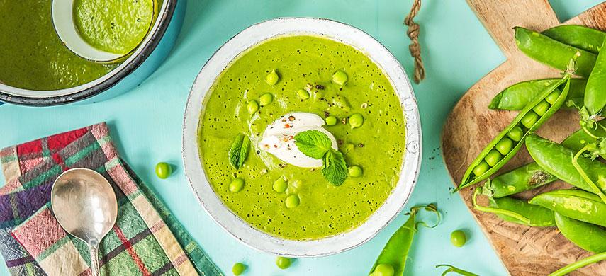 Суп из свежего горошка: вкусный летний рецепт