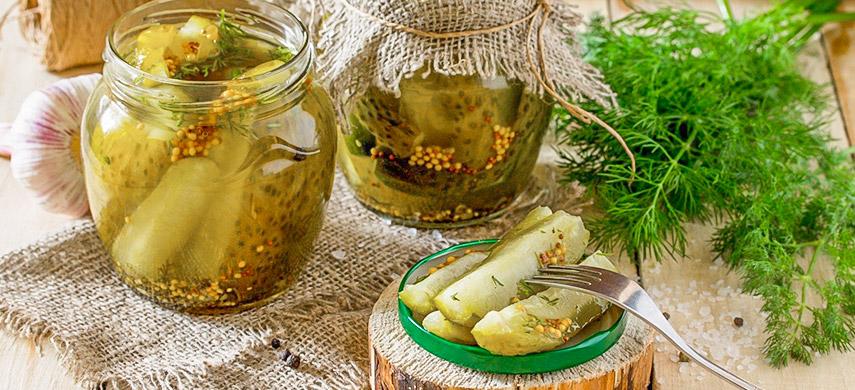 Маринованные огурцы с семенами горчицы: знаменитый немецкий рецепт №1